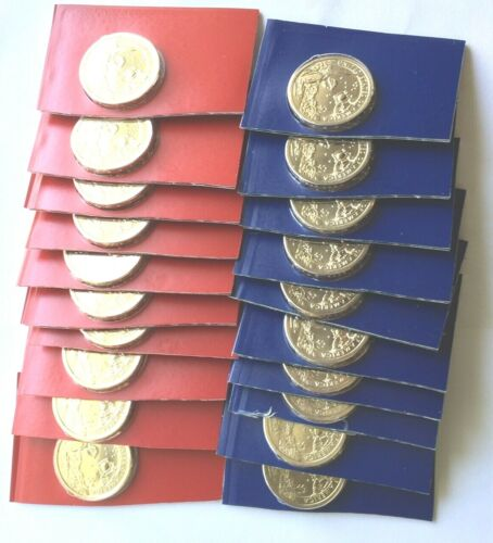2019 P and D  Sacagawea Dollar Roll from Uncirculated Sets  20 coins