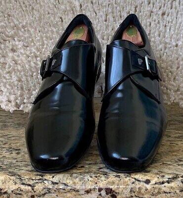 Versace mens dress shoes black size 13