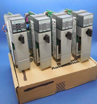 Allen Bradley 1747-l552 C Frn 13 Ethernet Series C 505 Slc500 32k Memory