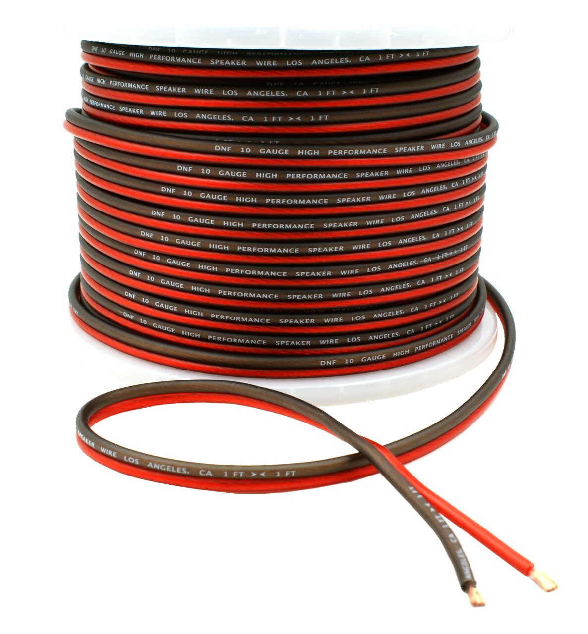 DNF Car Audio Home Speaker Wire 10 Gauge 250 Feet Audio Spea
