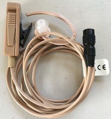 Motorola 2-wire Surveillance Kit (Beige) ZMN6038 Brand New XTS APX Astro saber - Motorola Surveillance Kit