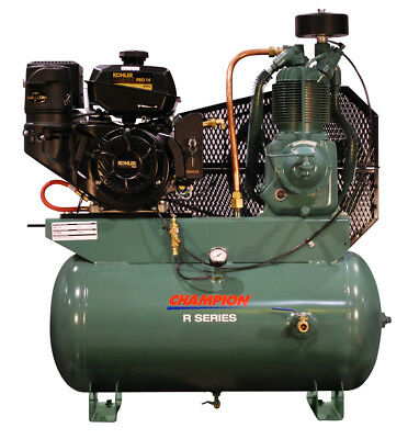 New Champion Two-stage 14hp Kohler Gas Power Air Compressor Hgr7-3k Best Seller