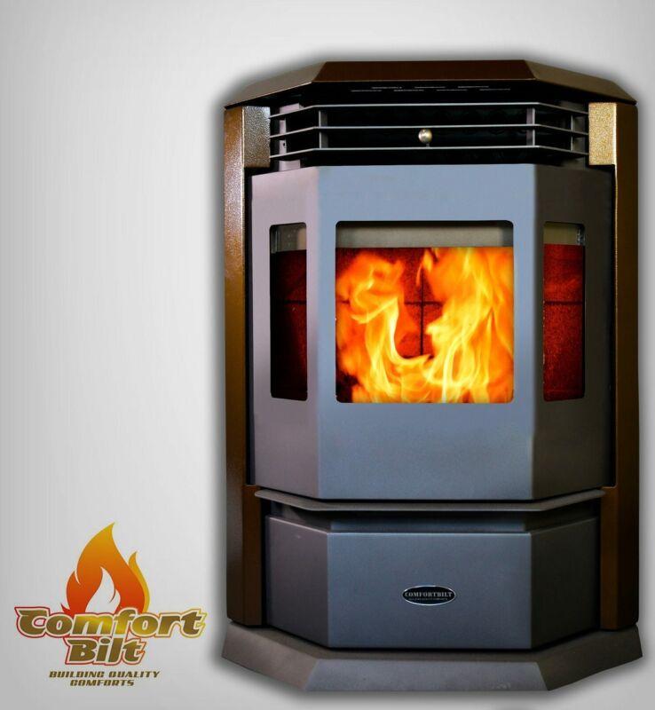 ComfortBilt HP22 Pellet Stove Golden Brown