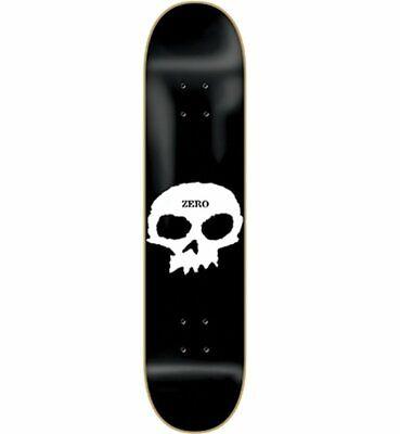 "Zero Single Skull Skateboard Deck - 8.0"""