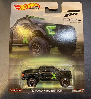 Hot Wheels 2019 Forza Motorsport '17 Ford F-150 Raptor Truck Rare HTF New Car
