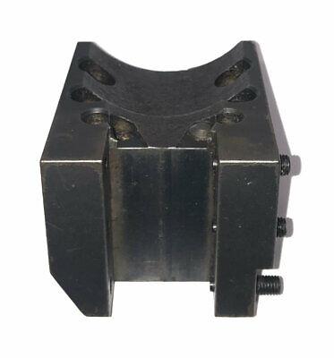 Mori Seiki Sl25 Cnc Od Turret Tool Holder Block 76mm X 35mm Bolt Hole Spacing