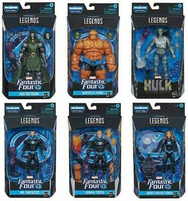 Hasbro Marvel Legends Fantastic Four Complete Set of 6 (NEW)