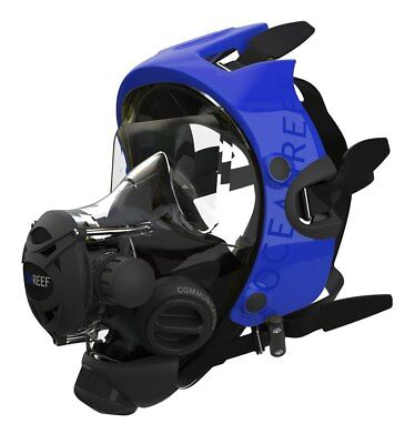 Ocean Mask - Ocean Reef Extender Frame Kit Neptune Space G. Divers Cobalt (Mask not included)