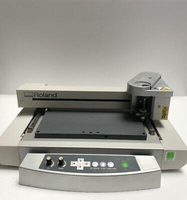 Roland Egx-30a Engraving Machine Desktop Engraver 5 -free Shipping-