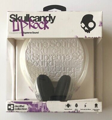 Skullcandy Uprock Headphones in Clear and Purple - NEW