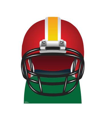 Football Helmet Sports Lifesize Standup Cutout Cardboard Standup Standee 2395 (Football Helmet Cutouts)