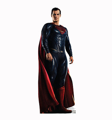 Superman Life Size Cut Out (JUSTICE LEAGUE MOVIE - SUPERMAN - LIFE SIZE STANDUP/CUTOUT BRAND NEW -)