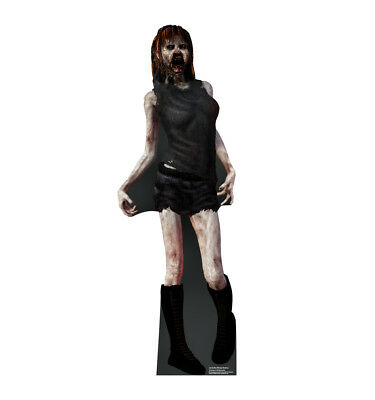 ZOMBIE WOMAN - OUTDOOR LIFE SIZE STAND-UP - BRAND NEW HALLOWEEN DECORATION 2680 - Make Outdoor Halloween Decorations