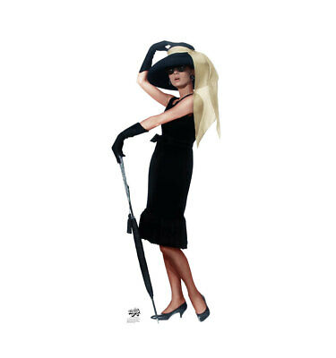 Audrey Breakfast at Tiffany's 02 Lifesize Cardboard Cutout Party Decoration