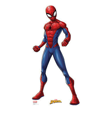 SPIDER-MAN - LIFE SIZE STANDUP/CUTOUT BRAND NEW - MARVEL COMICS 2481 - Spiderman Cutout