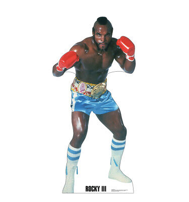 CLUBBER LANG - ROCKY 3 - LIFE SIZE STANDUP/CUTOUT BRAND NEW - MOVIE 2787](Rocky 3 Clubber Lang)