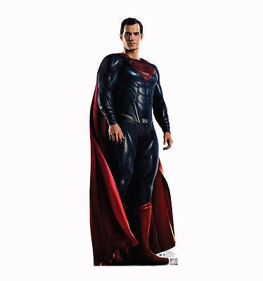 Superman Life Size Cut Out (SUPERMAN JUSTICE LEAGUE HENRY CAVILL LIFESIZE CARDBOARD STANDUP STANDEE CUTOUT)