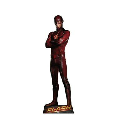 The Flash Lifesize Cardboard Cutout Party Decoration Decor Television