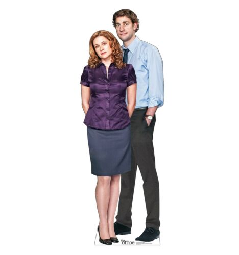 THE OFFICE - JIM AND PAM - LIFE SIZE STANDUP/CUTOUT BRAND NEW  - TV 3509