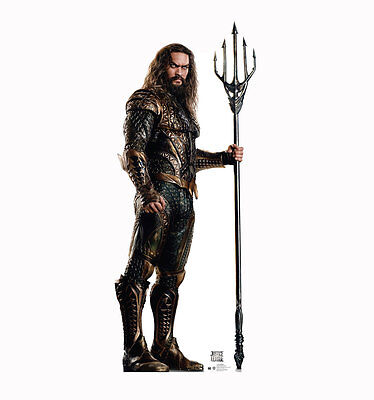 JUSTICE LEAGUE MOVIE - AQUAMAN - LIFE SIZE STANDUP/CUTOUT BRAND NEW - 2473