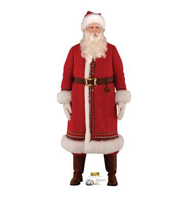 Santa The Polar Express Lifesize Cardboard Cutout Party Decoration Christmas - Polar Express Party Supplies