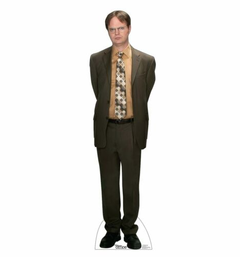 THE OFFICE - DWIGHT SCHRUTE - LIFE SIZE STANDUP/CUTOUT BRAND NEW  - TV 3508