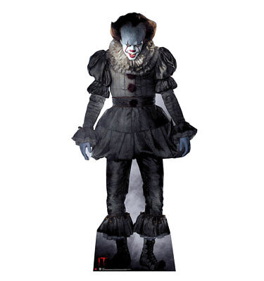 IT MOVIE - PENNYWISE THE CLOWN - LIFE SIZE STANDUP/CUTOUT BRAND NEW - 2568