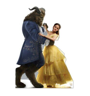 Belle and Beast Disney Beauty and the Beast Cardboard Cutout Party Decoration Disney Belle Cardboard