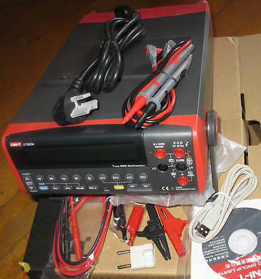 High-accuracy 0.015 Digital True Rms Bench Type Multimeter Dmm Usb Rs232 Ut805a