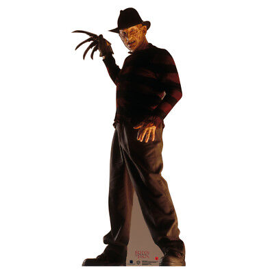 FREDDY KRUEGER - OUTDOOR LIFE SIZE STAND-UP BRAND NEW HALLOWEEN DECORATION - Make Halloween Decorations Outside
