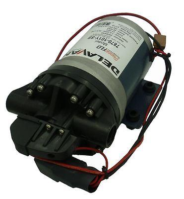 Delavan Fb2 Series Diaphragm Pump 12v 100 Psi 7.0 Gpm On Demand 7870-101y