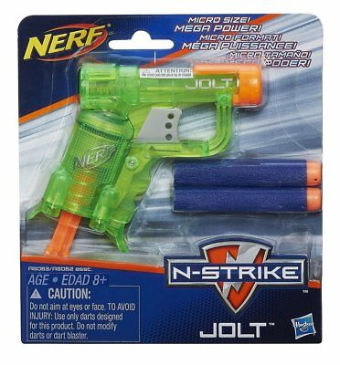 Nerf N Strike Jolt Blaster Green