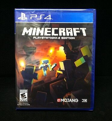 Minecraft  Playstation 4 Edition   Sony Playstation 4  Brand New   Region Free