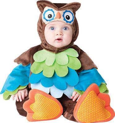 Jungen Eule Kostüm (Baby Jungen Mädchen Eule Tier festival-karneval Kostüm Kleid Outfit)