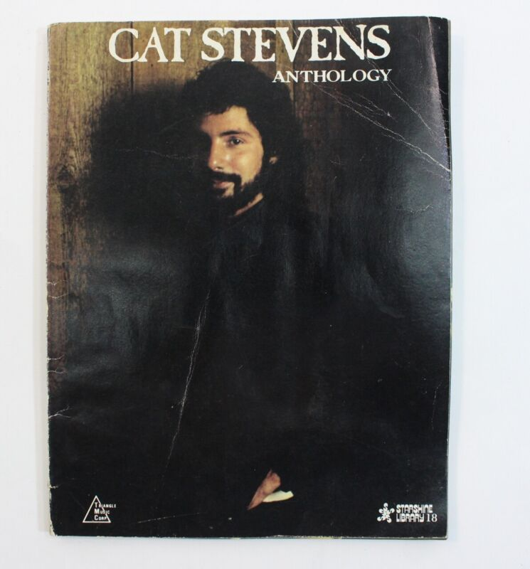 Cat Stevens Anthology Sheet Music Song Book Notes Classic Rock Piano Guitar