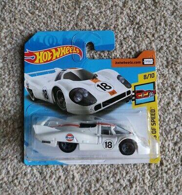 Hot Wheels - Porsche 917 LH - White Gulf