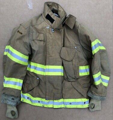 Janesville Turnout Bunker Coat Fire Fighting Firefighter Lion Gear 46 X 29