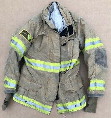Janesville Isodri Turnout Bunker Coat Fire Fighting Firefighter Gear 38 X 32