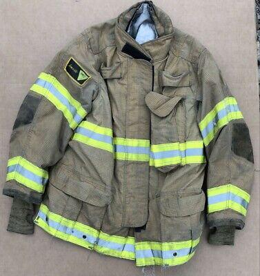 Janesville 44 X 32 Isodri Turnout Bunker Coat Fire Fighting Firefighter Gear 9