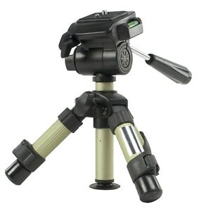 PROFESSIONAL MINI TABLE TOP TRIPOD FOR PHOTO DIGITAL CAMERA AND VIDEO CAMCORDER