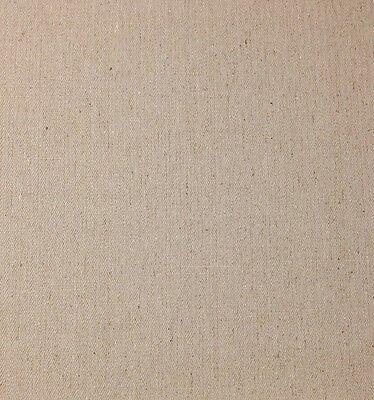 Ballard Designs Everyday 10Oz Linen Natural Herringbone Fabric By The Yard 54 W