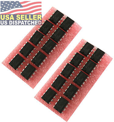 20 Pcs Fairchild Onsemi Lm358n Lm358 358 Low Power Dual Op-amp 8 Pin Dip Ic -