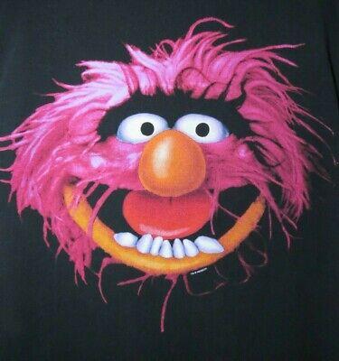 Muppet Animal T Shirt (VTG Animal T-Shirt by Kermit Collection Muppets Single Stitch Large Jim Henson)