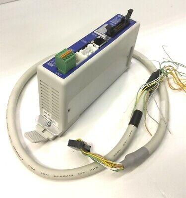 Smc Lecp6p5d-lemht32lut-1500 Step Motor Controller Actuator Pnp 24vdc W Lec-cn5