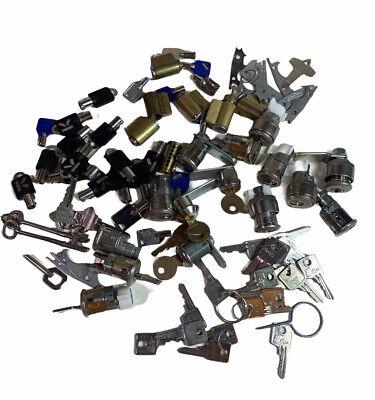 Lot Locksmith Cam Lock Tubular Cylinder Barrel Key Cabinet