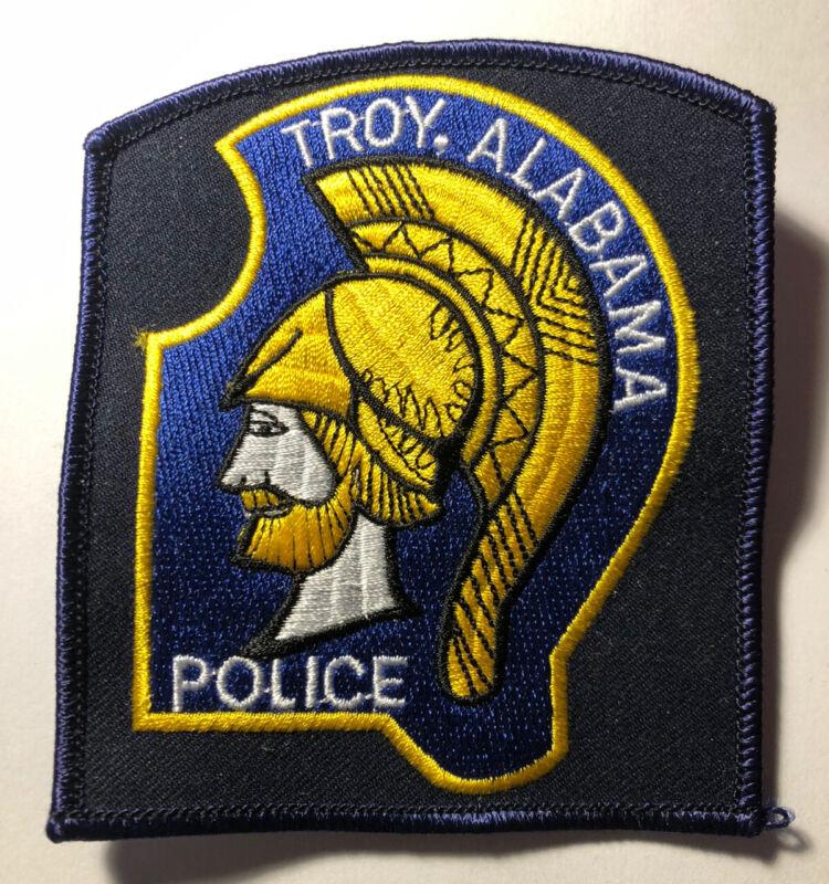 Troy Alabama Police Patch