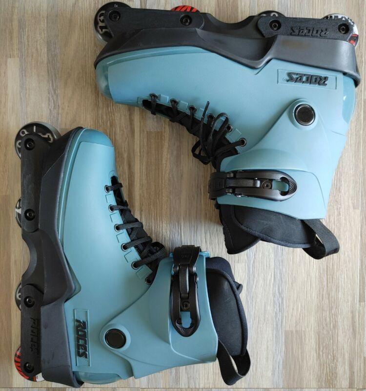 Roces aggressive skates M12 / sz 12 abec 5 4 valo wheels very good conditions