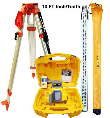 Spectra Precision Ll300n-8 Laser Level With Tripod 13 Ft It Rod Hr320
