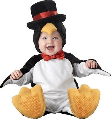 Weihnachts-Pinguin Tier Lustig Kostüm Kleid Outfit 6-24ms (Pinguin Baby Kleid)