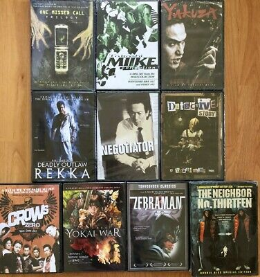 15 Takashi Miike DVD Lot One Missed Call Trilogy Crow Zero Yakuza Like A Dragon comprar usado  Enviando para Brazil